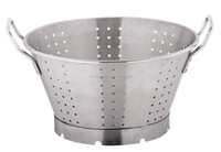 Quality big size hotel and restaurant large commercial colander