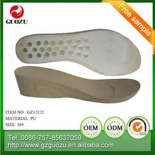 Lady fashionable pu slipper outsole supplier