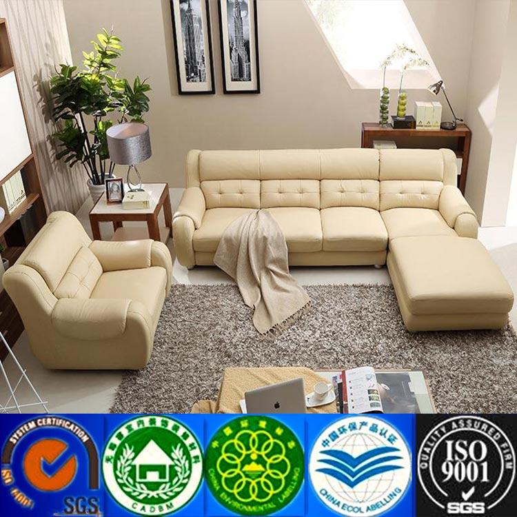 Living room furniture modern leather sofa cheap leather for Cheap modern italian furniture