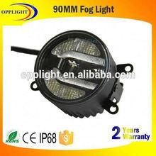 ID 90MM DC9-30V COB LED Angel Eyes Halo Ring Light 9CM LED Car Fog Lamp Auto multicolors