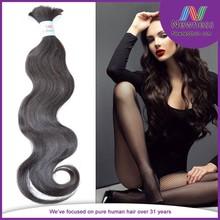 body wave bulk braiding korean hair extension products