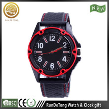 Black anti-shock japan movement outdoor watch