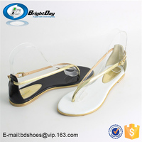 New popular fashion sandals/flat sandals for ladies pictures