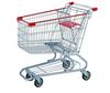 RH-SM100 Factory Price Wholesale 100L retail shopping trolley cart