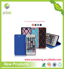 Free sample leather waterproof mobile phone case