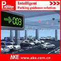 sensor ultrasónico de espacio de estacionamiento estatus de identificación para el estacionamiento de la gestión