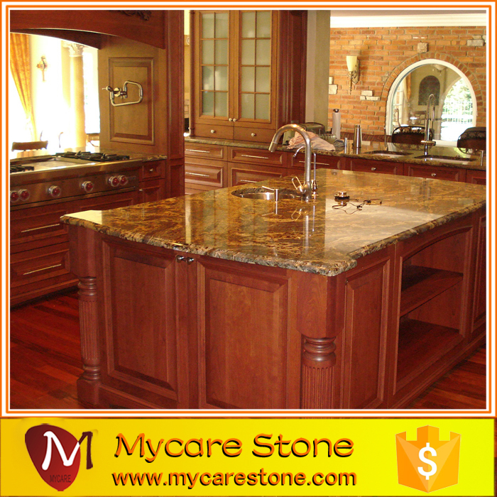 Hot Sales Cheap Price Golden Yellow Speckled Granite