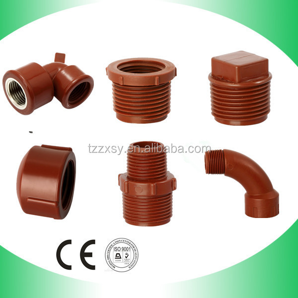 Plumbing pp pipe fitting thread fittings good