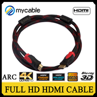 China Factory high speed bulk 1.4 hdmi cable with 1080P 3D ethernet