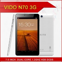 hot selling 7inch viso N70 dual core mtk8312 1.2GHz 512MB RAM +4GB ROM support 3G wcdma android4.2.2 os tablet pc