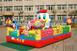 funny inflatable bounce / bouncy castle for sale