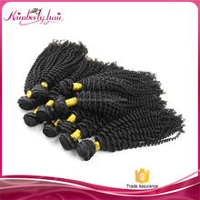 cheap 100% human hair afro kinky curly hair extentions