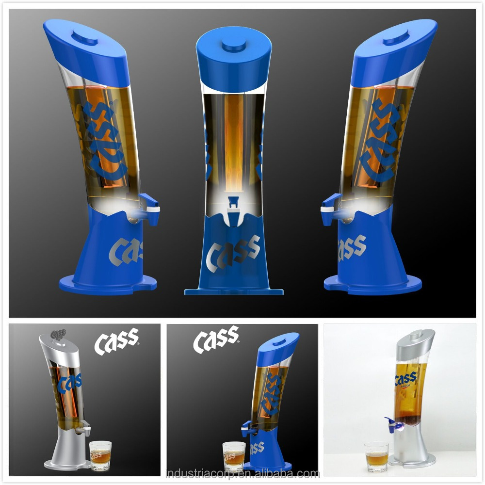 Drink Dispenser With Ice Core