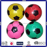 2015 hot sale pvc children toy inflatable soccer ball