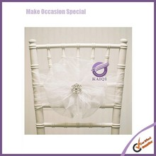 k6189 wholesale wedding decrative organza sash with buckle