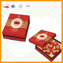 OEM cute moon cake box with handle