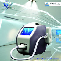 8.4 TFT color LCD display nd yag laser machine for tattoo removal skin rejuvenation