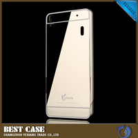 luxury metal and pc case for lenovo k3 note mirror back cover