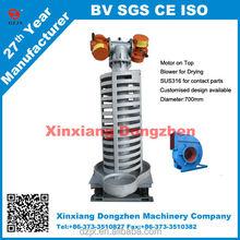 Stainless Steel vibrating spiral conveyor for Granular Material