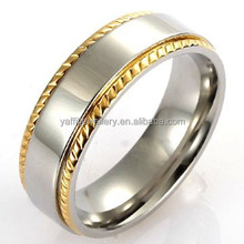 european style geared ring,custom welcome gold plated silver ring