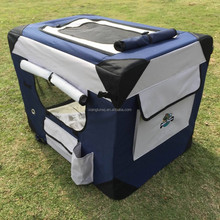 PUPPY POWER PORTABLE PET HOME, SOFT CRATE, COLLAPSIBLE DOG KENNEL- XL - 102CM