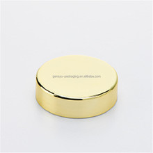 13oz/380ml golden plastic HDPE airtight chrome food supplement containers