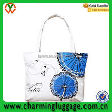 classical canvas shopping bag for women