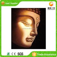 Factory supply wall art decor 3d diy diamond painting buddha canvas