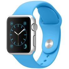 Sport watch brand for apple watch official design soft silicon watch band 38mm 42mm