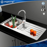 Professional mould design factory directly top mount single bowl sinks of POATS