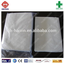 5pcs/bag well package high quality cheap disposable nonwoven bed cover for hospital