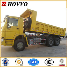 China Sinotruck Howo 10 wheels dump trucks left hand driving vehicle for sale