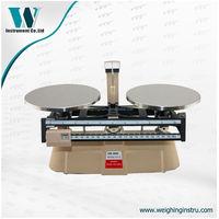 double weighing pan mechanical beam balance