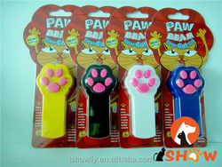 New Funny Pet Cat Interactive Automatic Red Laser Pointer toy electronic button battery