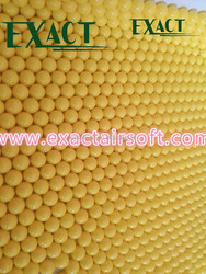 target for hunting 6mm 0.12g airsoft plastic bb,Yellow