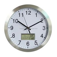 30CM LCD digital wall clocks
