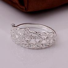 anillo de latón con zirconía cúbica