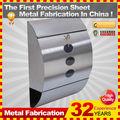 Acero simple Apariencia Buzón acero, acero inoxidable moderna buzón, postboxtbox