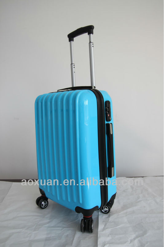 pc luggage 2014 Hot selling 100% PC trolley luggage polycarbonate trolley luggage