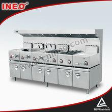 Deluxe attrezzature per la ristorazione per ristorante/attrezzature da cucina per cucina centrale