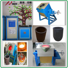 Low Energy Consumption 10kg Portable Melting Furnace for Iron Melting