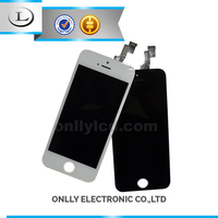 hot sale!!! cell phone parts from china for iphone 5S lcd , for iphone 5S lcd touch screen digitizer assembly display