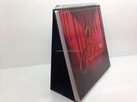 Luxury 3D Custom Paper Table Calendar For 2016