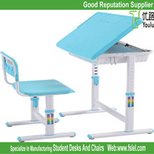 ergonomic adjustable kids plastic table and chair for children
