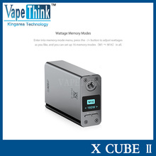 2015 New Design Genuine Smok X Cube II 160W Temperature Control Mod Smoktech X-Cube 2 TC 160w/ IPVd2/koopor mini