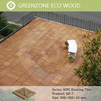 easy and quick installation DIY garden waterproof outdoor decking tile