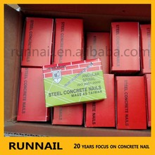 High Standard Angular Spiral Steel Concrete Nail (High Shine) Factory--Thumb