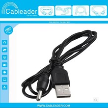 USB-A to 5.5mm / 2.1mm DC Barrel Jack Male 5v Power Charger Connector Cable