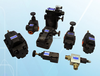 hydraulic solenoid coil electronic air valve electronic valve