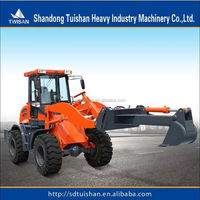 TWISAN brand favourable price 2.0T backhoe loader with famous engine and 20.5-16 tire